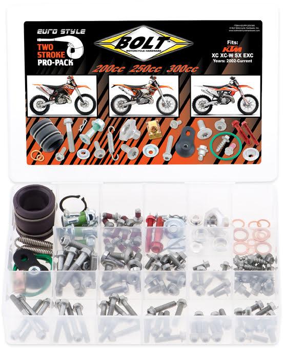 Kit de Parafusos PROPACK | KTM 2STK 200-300CC BOLT MOTORCYCLE HARDWARE