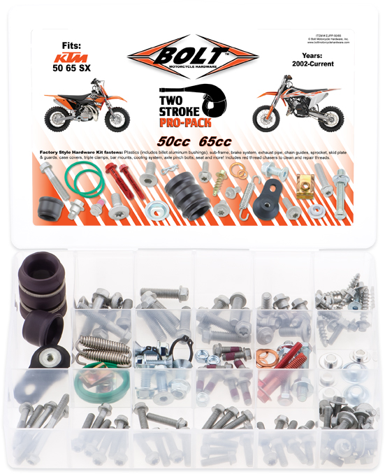Kit de Parafusos PROPACK | KTM 2STK 50-65CC BOLT MOTORCYCLE HARDWARE