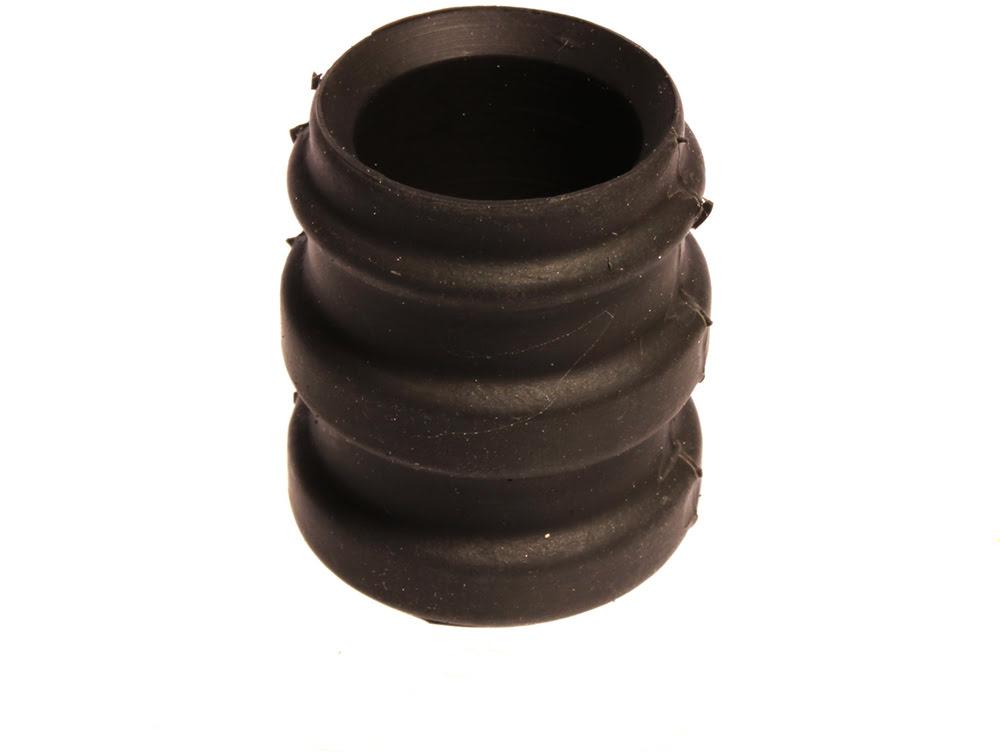 Borracha de escape Silicone 23.5 / 25.5mm Preta