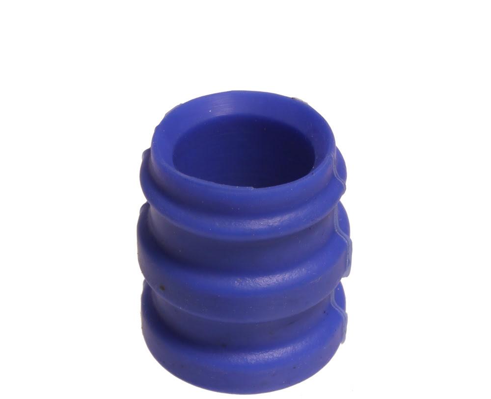 Borracha de escape Silicone 23.5 / 25.5mm Azul