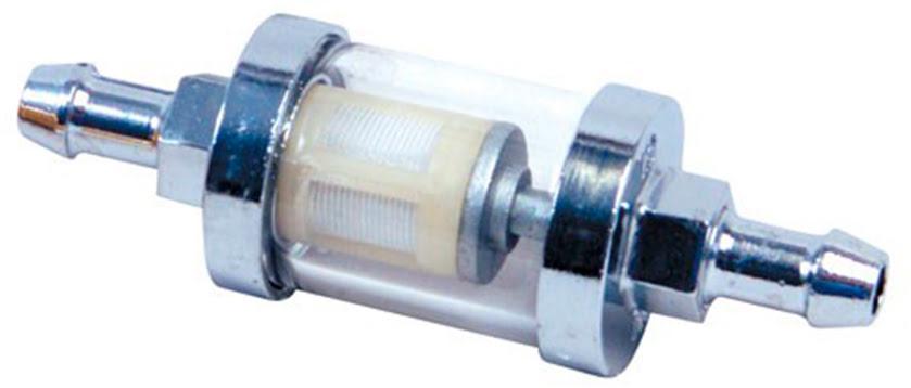 Filtro de gasolina vidro 8mm