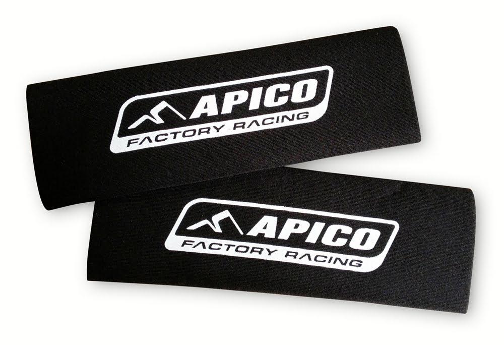 Proteção de suspensão em neoprene Preta 340mm X 80mm APICO