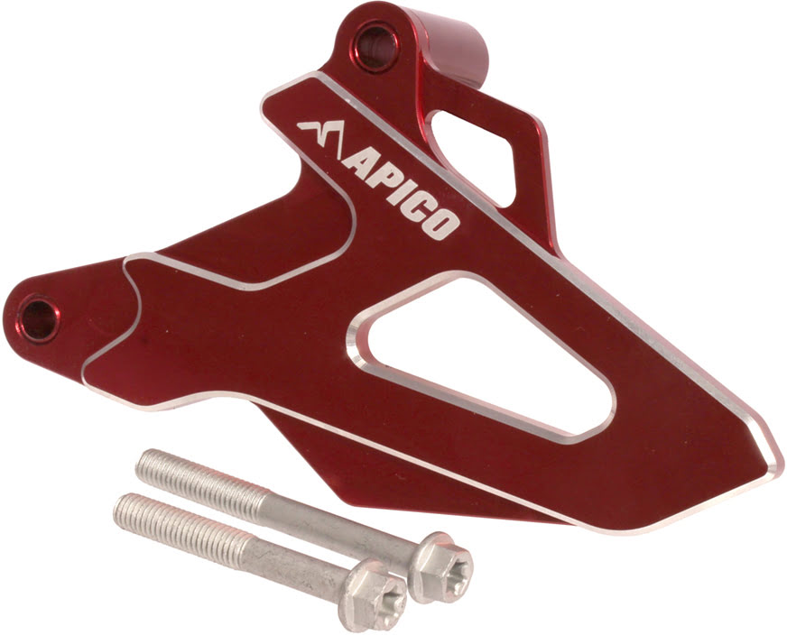 FRONT SPROCKET COVER HONDA CRF250R 18-19, CRF250RX 2019 RED APICO