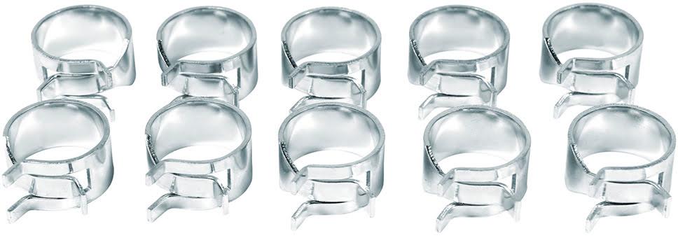 Abraçadeiras p /  tubo (10un) APICO