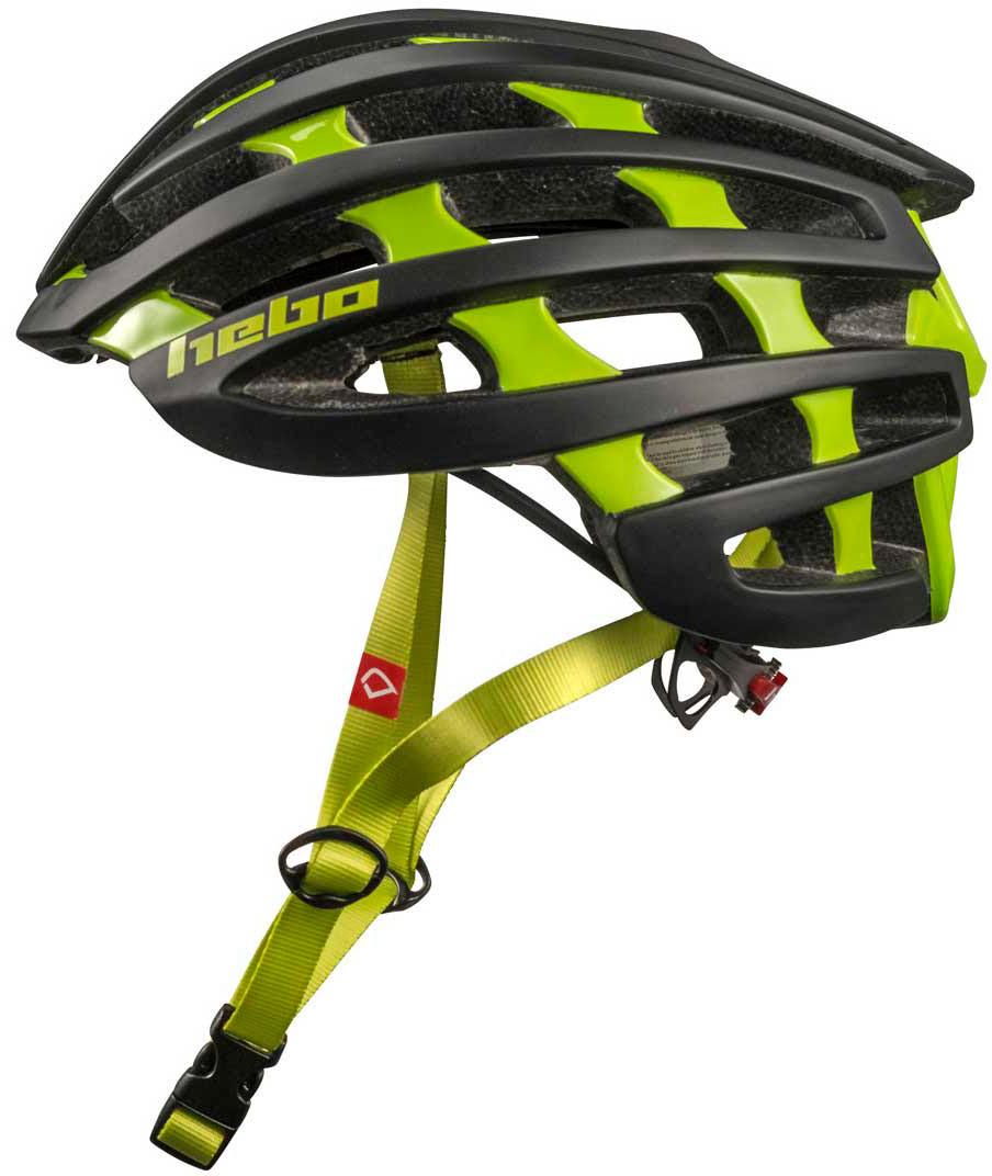 Capacete Bicicleta Hebo CORE 1.0 Preto / Verde