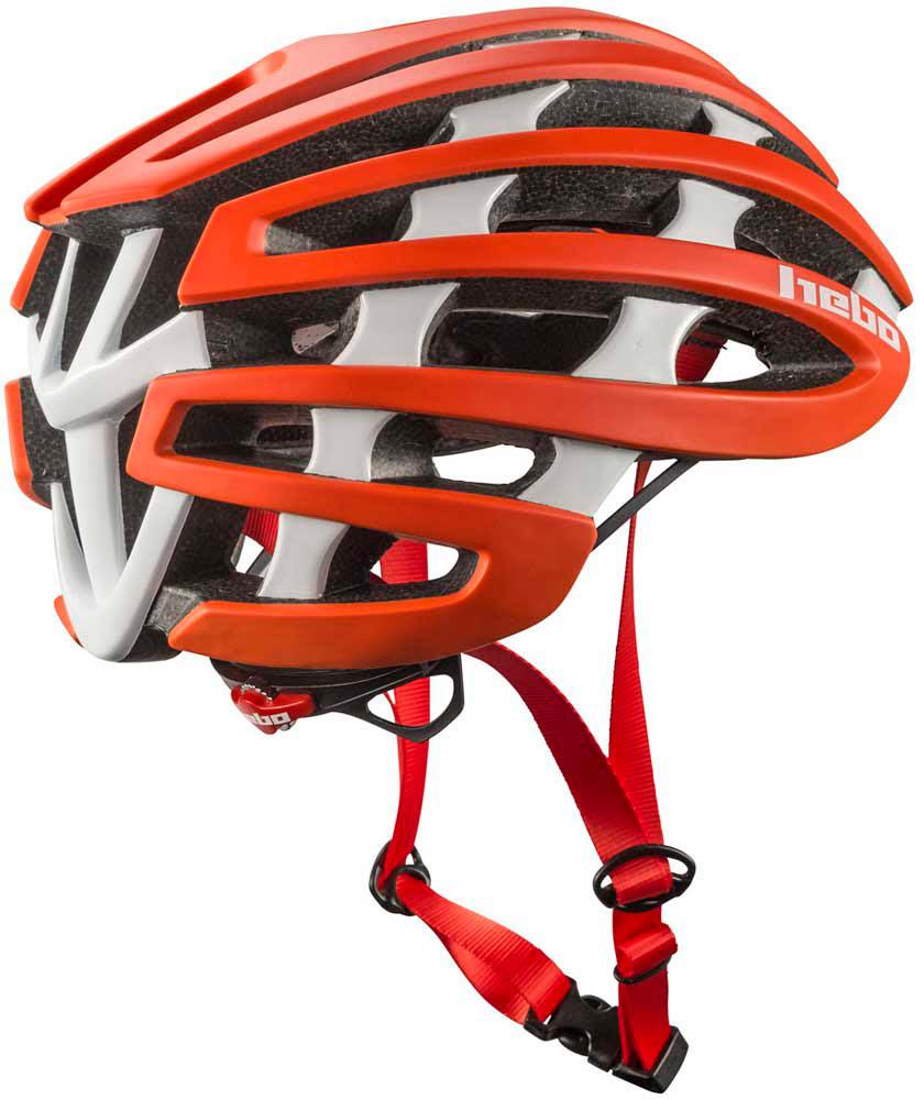 Capacete Bicicleta Hebo CORE 1.0 Vermelho / Branco HEBO