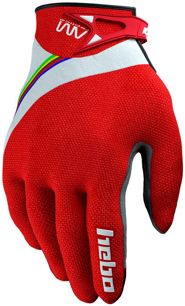 Gloves Hebo AM REPLICA Red