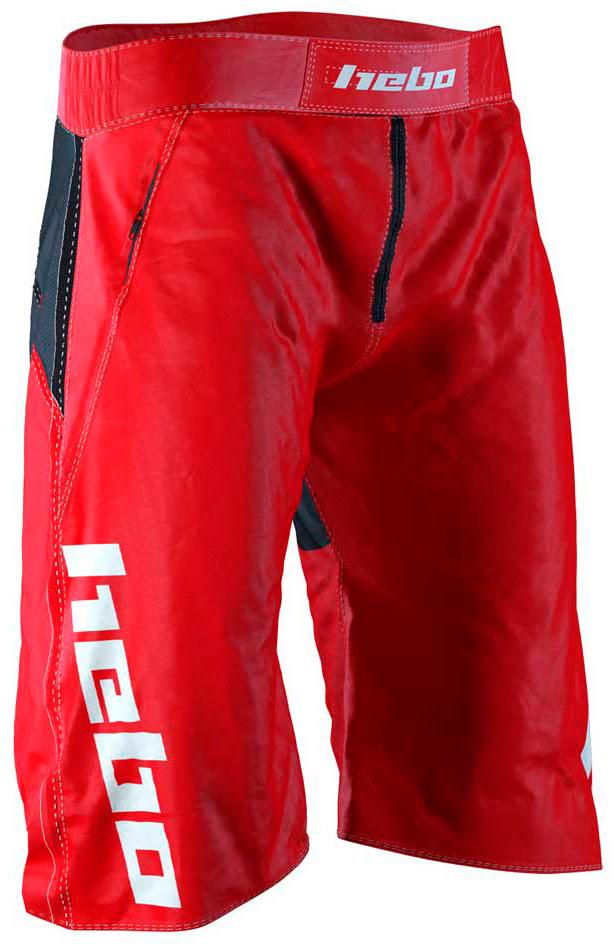 Calções de Bicicleta TRAIL Vermelhos HEBO