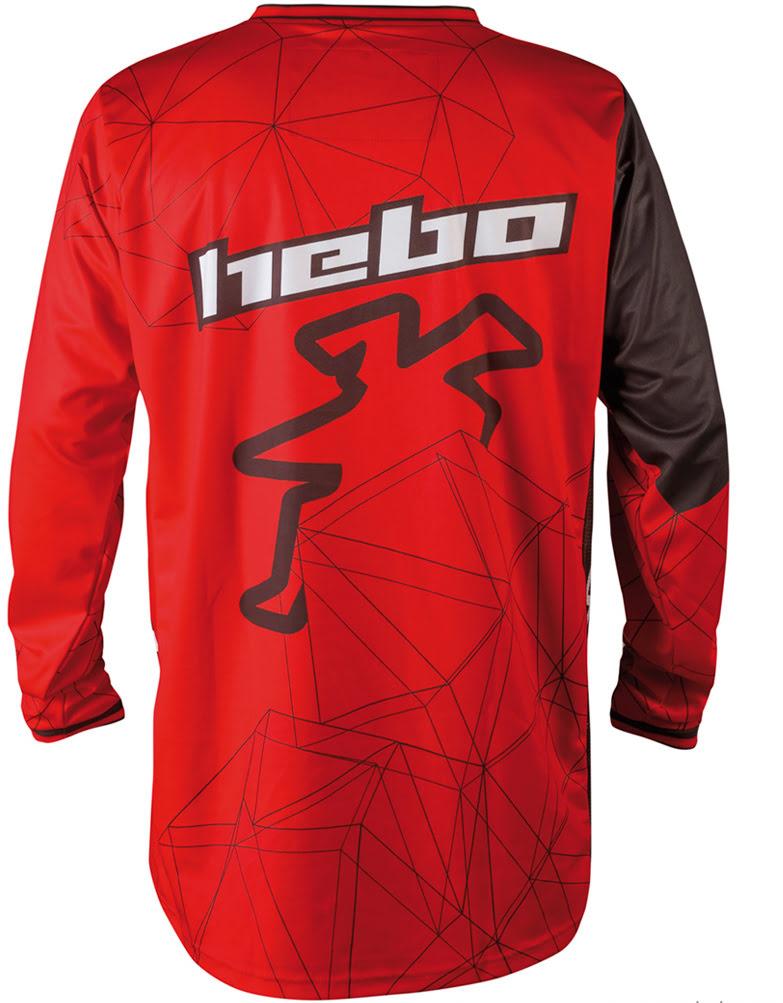 Camisola Hebo Off-Road SWAY Vermelha S