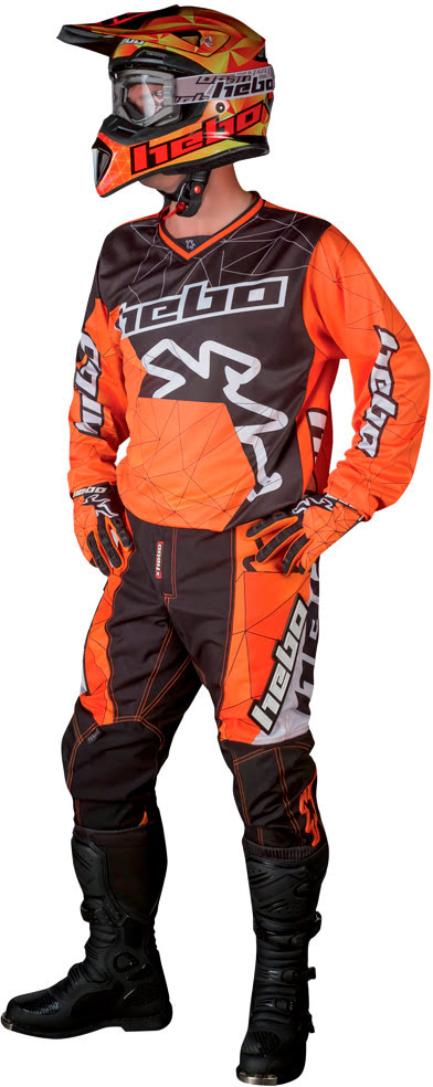 Riding Gear Hebo Orange