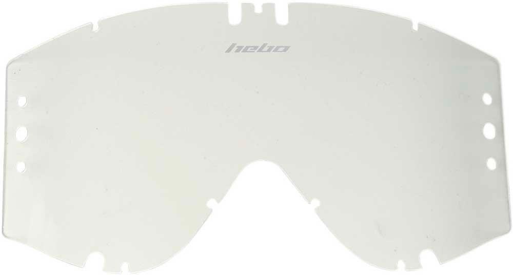 Lente de oculos Hebo HIGH-V & MEDIUM-V Roll-Off Transparente