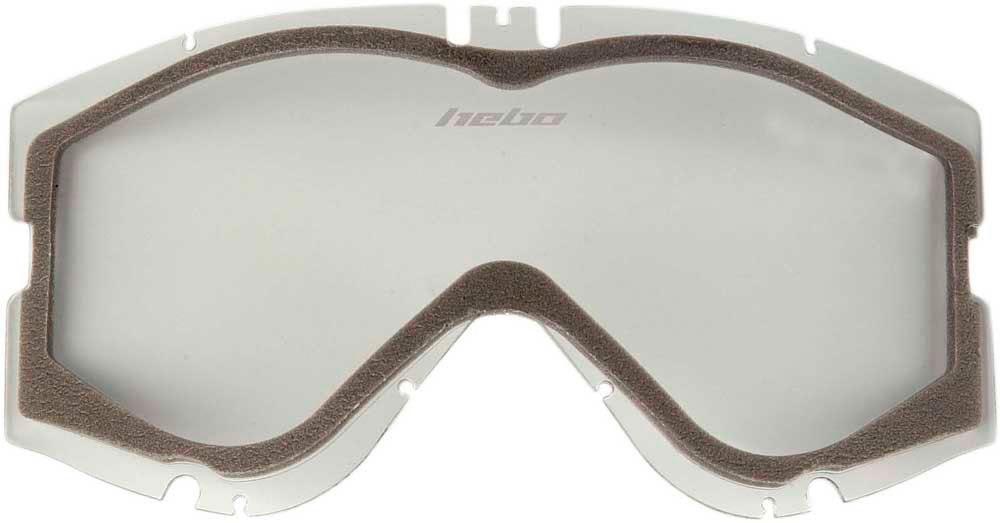 Lente de oculos Hebo HIGH-V & MEDIUM-V Dupla Transparente