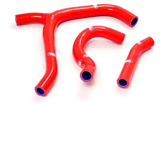 Tubos silicone Radiador Vermelhos