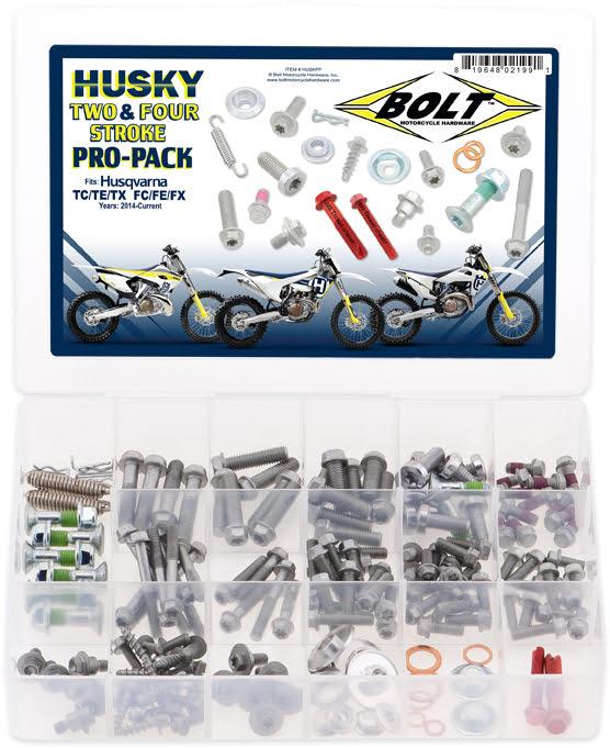 Kit de Parafusos PROPACK | HUSQVARNA 2 & 4-STK BOLT MOTORCYCLE HARDWARE