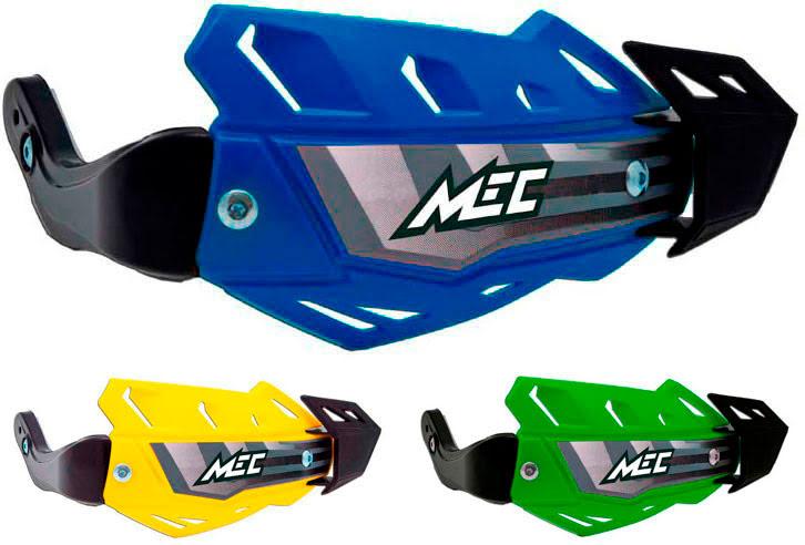Proteção de mãos «FLX ATV Aluminio» Amarela RACETECH