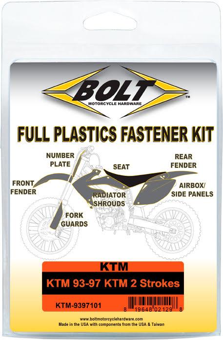 Kit de Parafusos para Plásticos BOLT