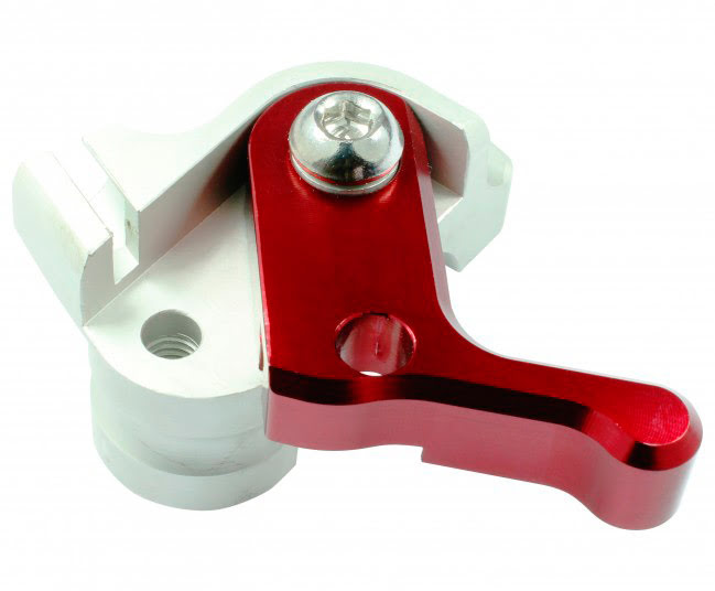 HOT START LEVER RED