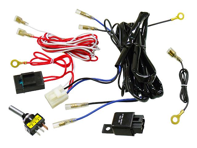 Instalação eletrica para farois