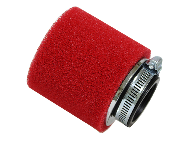 Filtro de ar universal 42mm Vermelho RACEPRO
