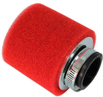Filtro de ar universal 28mm Vermelho