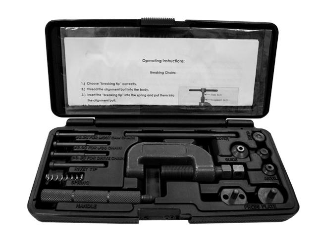 Kit de Descravador & Cravador de corrente RACEPRO