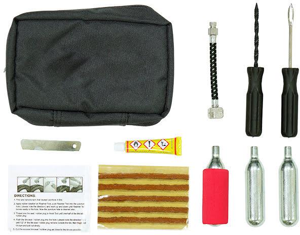 Kit de reparação tubless c / bolsa RACEPRO