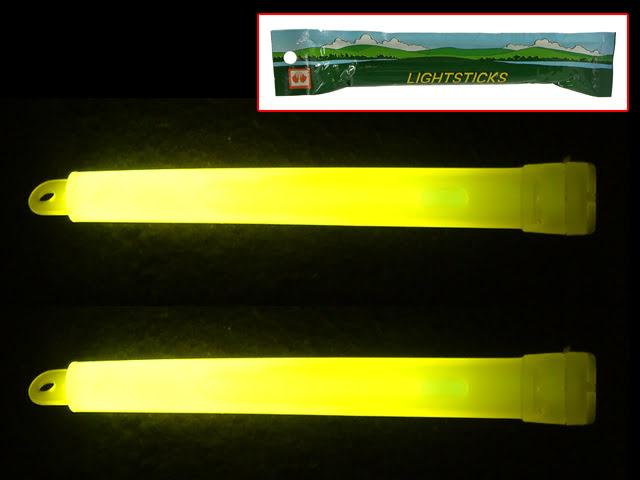 Luces quimicas 12h amarelas 2un