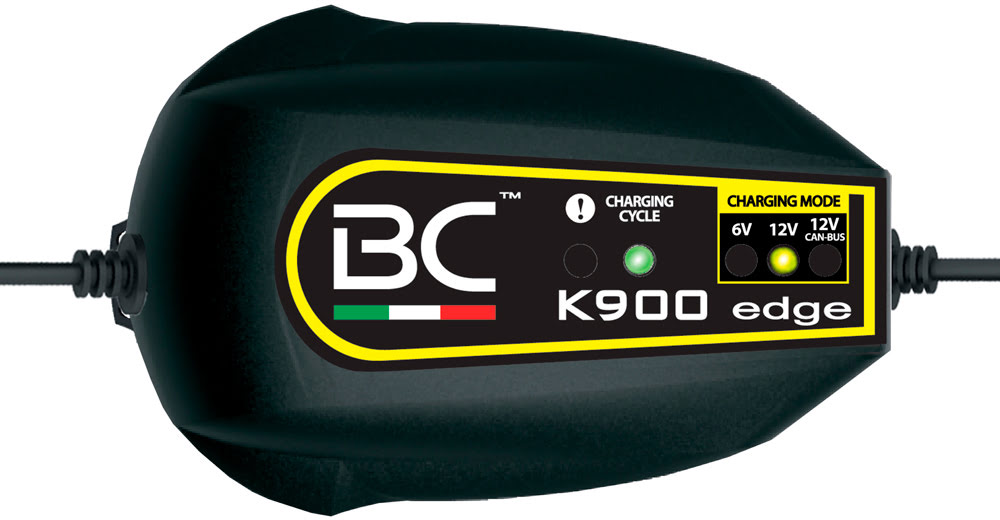 Carregador automatico baterias BC K900 EDGE 6 / 12v (Acido)