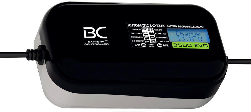 Carregador automatico baterias BC 3500 EVO 12v (Acido)