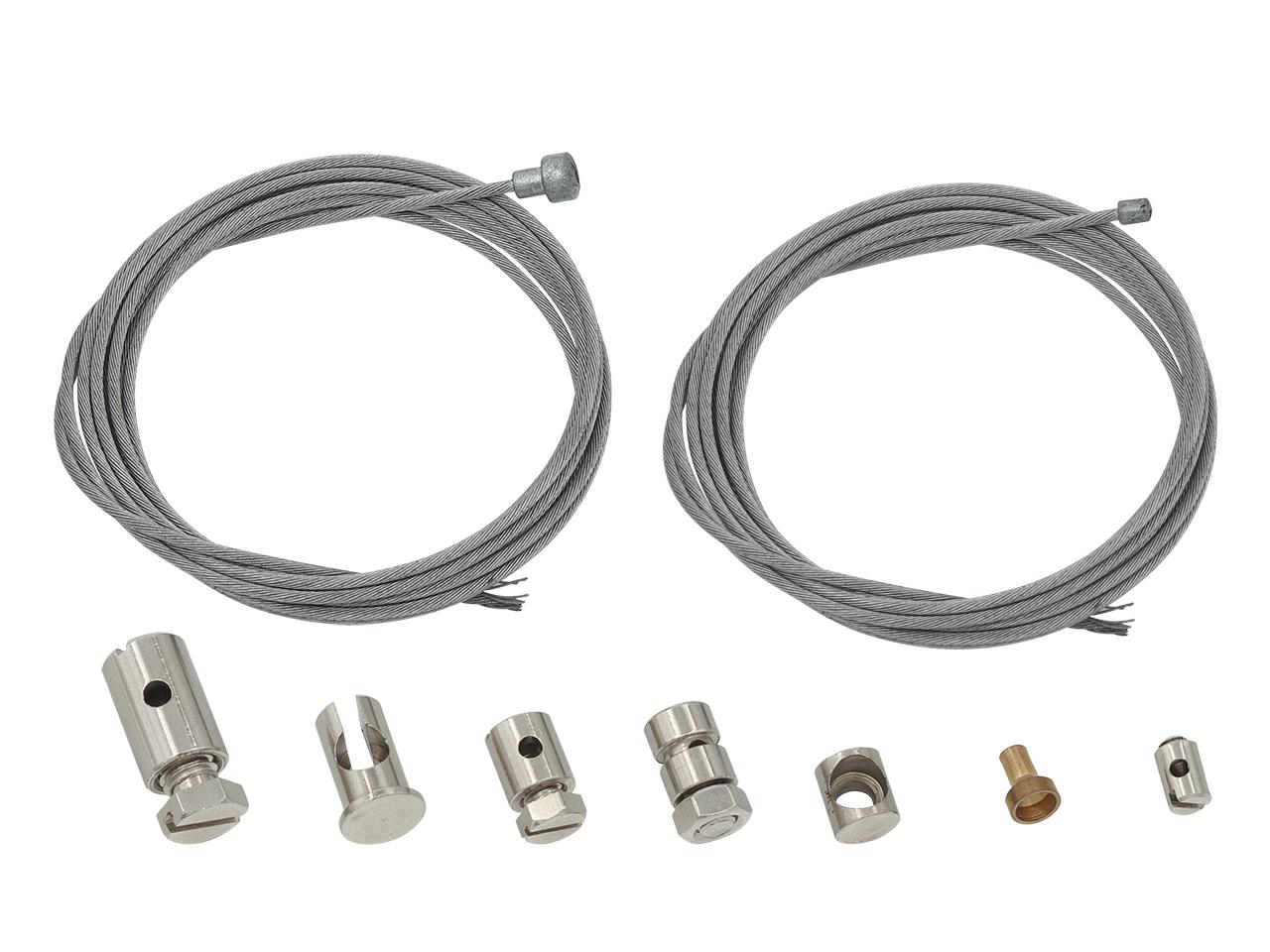 Kit de cabos de embraiagem universal (2 cabos + 7 terminais
