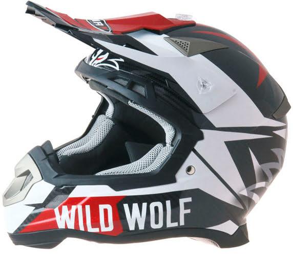 Capacete SHIRO MX-917 WILD WOLF Wild Wolf