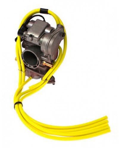 Tubo silicone Ø3mm X Ø5mm 3 Metros Amarelo SAMCO SPORT