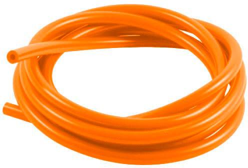 Tubo silicone Ø5mm X Ø7.5mm 3 Metros Laranja SAMCO SPORT
