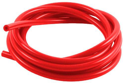 Tubo silicone Ø5mm X Ø7.5mm 3 Metros Vermelho SAMCO SPORT