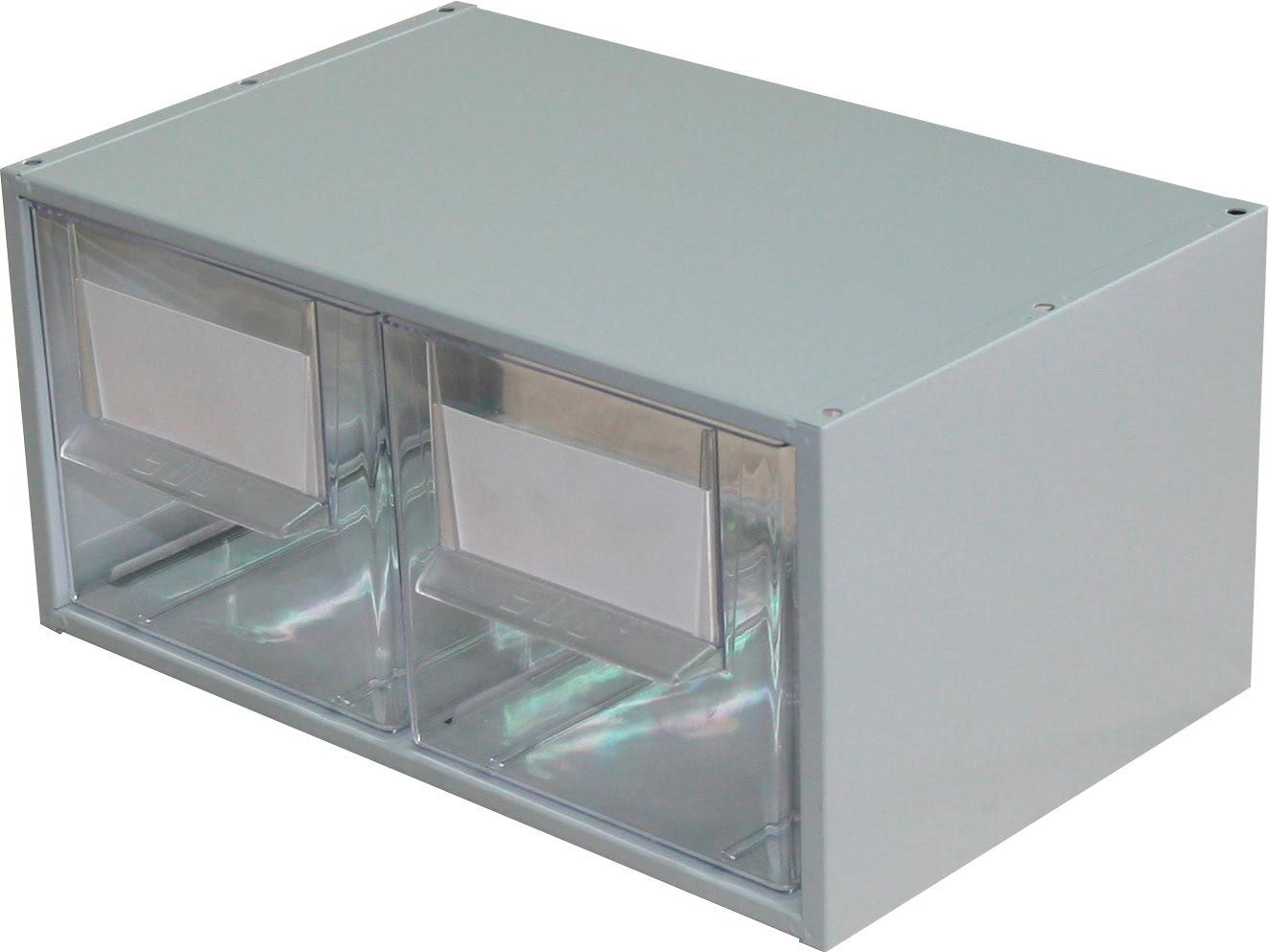 Estante Metálo-Plástica com 2 gavetas n.º 3 SUC