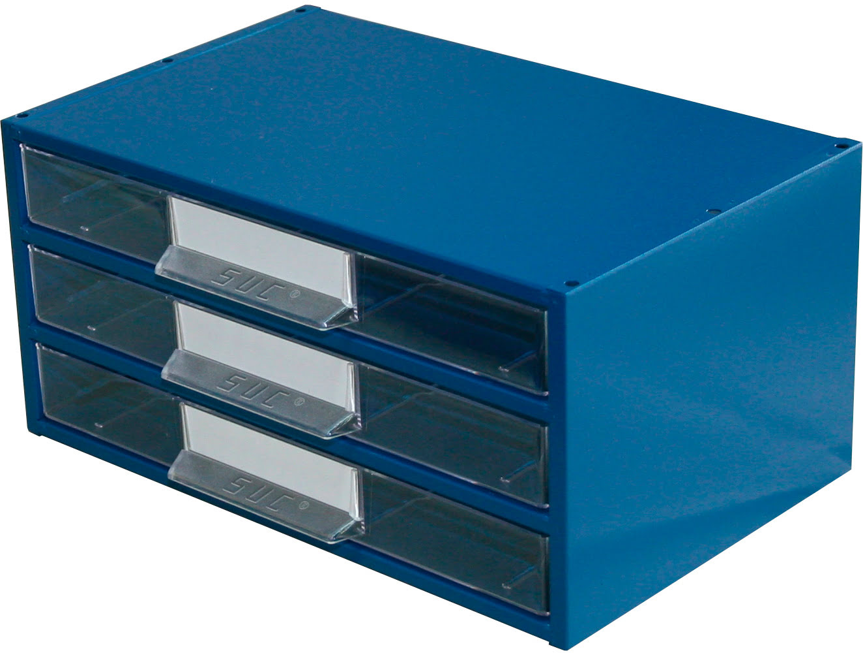 Estante Metálo-Plástica com 3 gavetas n.º 5 SUC