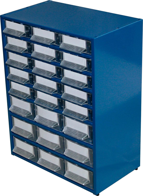 Estante Metálo-Plástica com 24 gavetas SUC