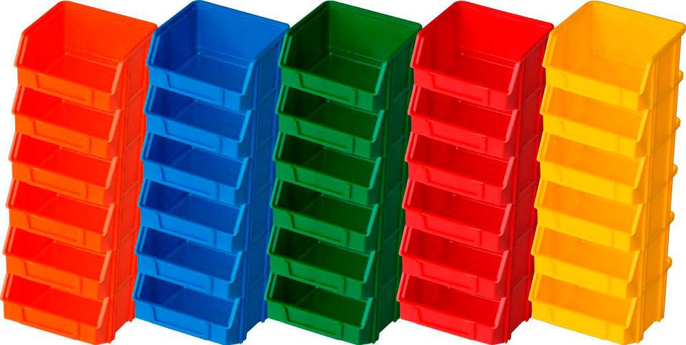 Caixa stock modelo 0 (30un) (6 de cada cor)