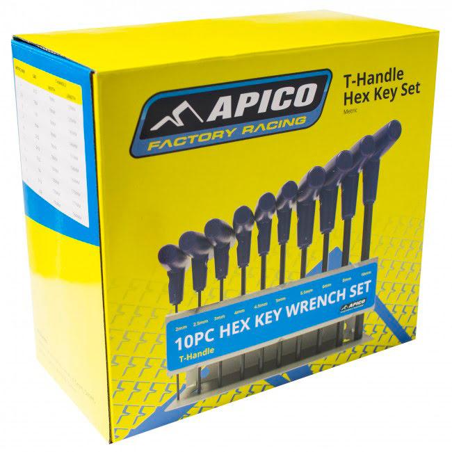 Chave de umbraque T Apico 2-10mm (kit 10un)