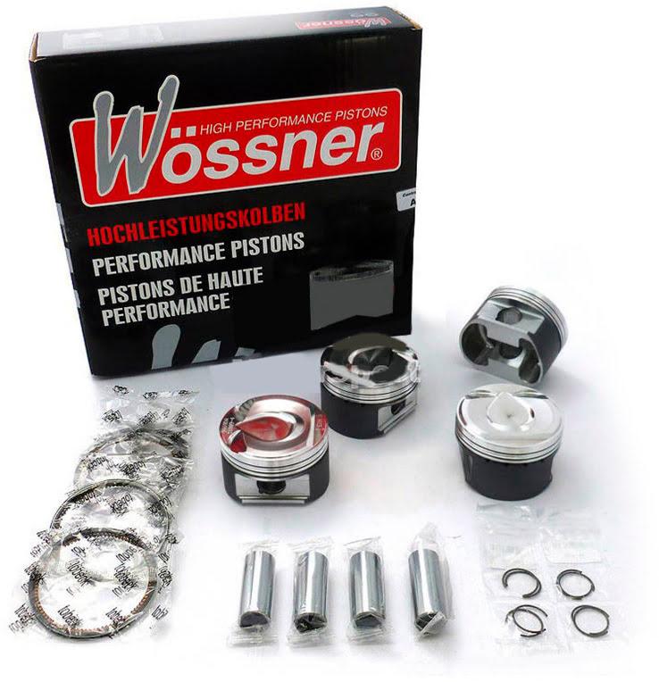 Kit de Pistons Wössner ø84,93mm (3-Segmentos) (12.00:1)