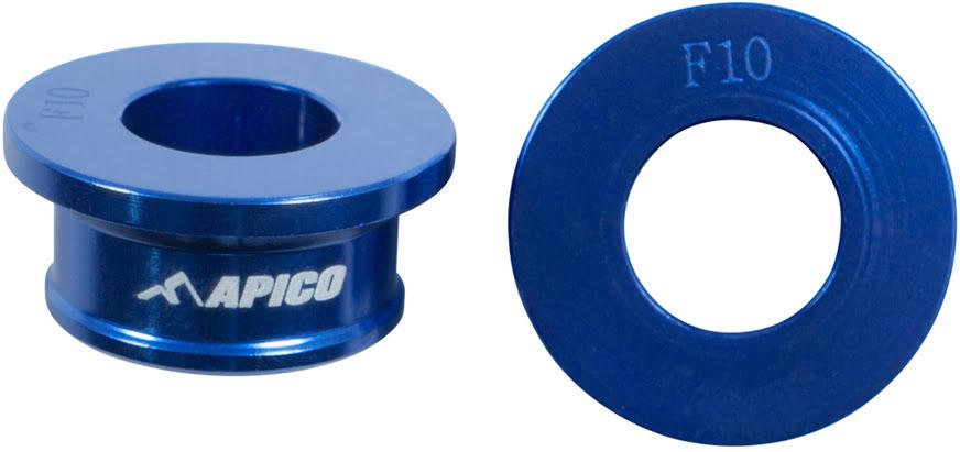 Casquilhos de roda da frente Azuis APICO