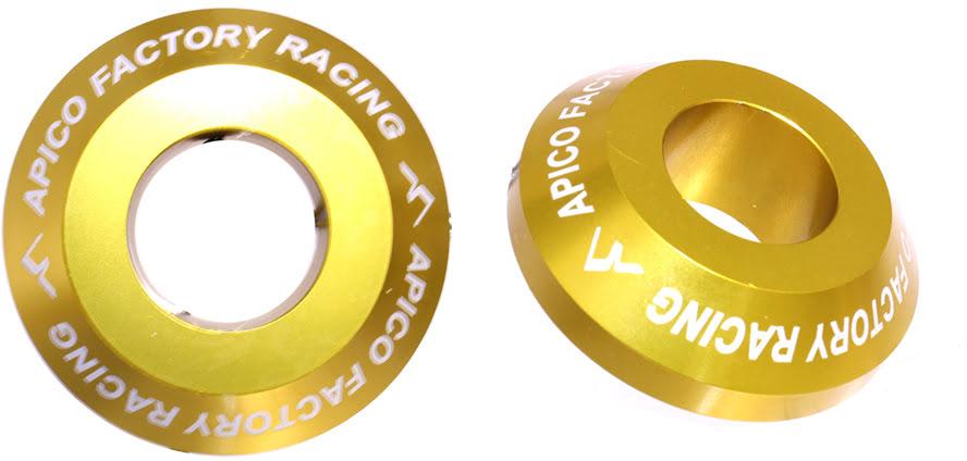 Casquilhos de roda da tras PRO Amarelos