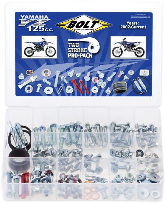 Kit de Parafusos PROPACK | YAMAHA 2STK YZ125 BOLT MOTORCYCLE HARDWARE