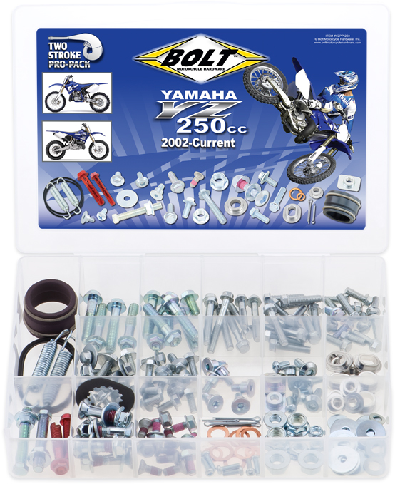 Kit de Parafusos PROPACK | YAMAHA 2STK YZ250 BOLT MOTORCYCLE HARDWARE
