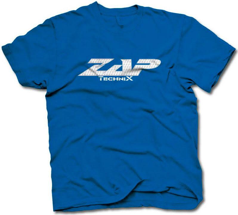 T-SHIRT ZAP VOLUME AZUL